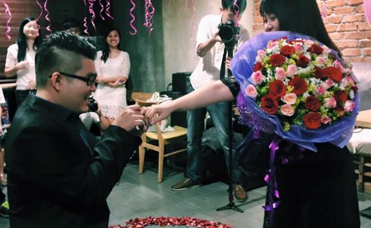 David求婚了